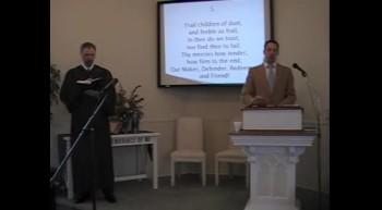 """""""O Worship the King,"""" First OPC Perkasie, PA. R. Scott MacLaren, Pastor"""