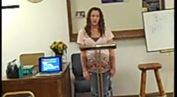 Lindsay's Informative Speech Video