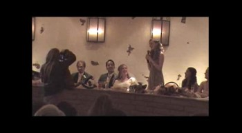 Gideon and Jordan's Wedding - Maid of Honor Speech