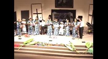 Akua Praise - Ukulele Mele Praisers and Hula Dance Team - Amazing Grace