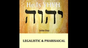 LEGALISTIC PHARISAICAL-Written and sung by John Day