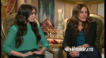 MIRROR MIRROR - Julia Roberts & Lily Collins interview