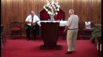 Sirviendo al Señor con sobriedad y alegria. Pastor Walter Garcia. 18-03-2012