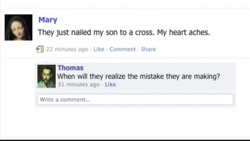 The Story of Easter Told Through Social Media