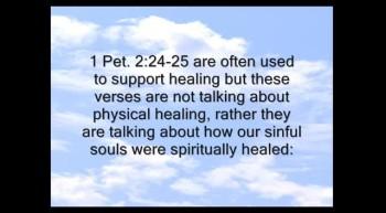 Healing - Why Not Everyone