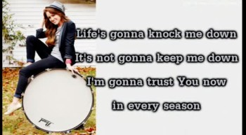 Britt Nicole - Who You Say You Are (Lyrics On Screen Video)