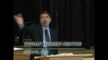 Pastor Preaching - April 08, 2012