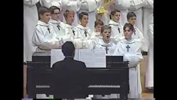 Funny!  Choir Boys Perform