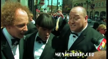 THE THREE STOOGES premiere