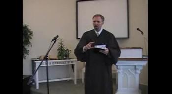 First Presbyterian Church Svc., Perkasie, PA 4/15/12. Rev. R. Scott MacLaren
