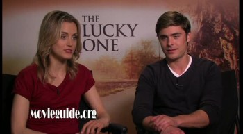 THE LUCKY ONE - Zac Efron & Taylor Schilling interview
