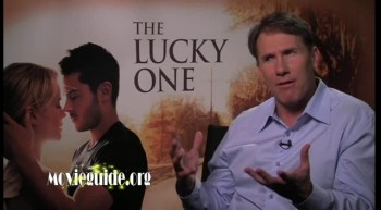 THE LUCKY ONE - Nicholas Sparks interview