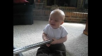 Baby Loves Vacuum!