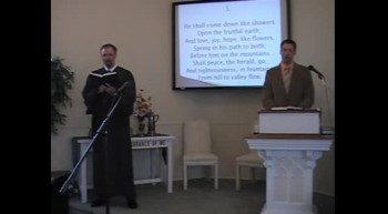"""Congregational Hymn: """"Hail to the Lord's Anointed!"""" First OPC Perkasie PA 4/22/2012"""