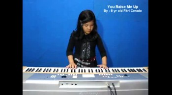 Amazing Child Singer - Fitri Cerado - You Raise Me Up