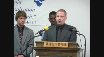 LOVING HANDS MINISTRIES Pastor Wendell C Wilson and his Young Men in the ministry March 11 2012n