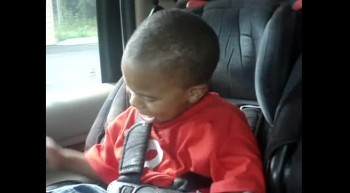 Toddler Lip Sings Fred Hammond
