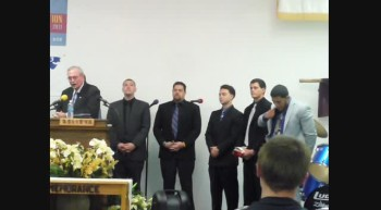 LOVING HANDS MINISTRIES Pastor Wendell C Wilson and his Young Men in the ministry March 11 2012f