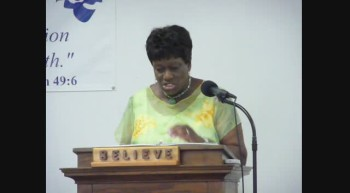 MEN OF THE BIBLE - ABSALOM SON OF DAVID PART 1 Pastor Flora Anderson March 18 2012a