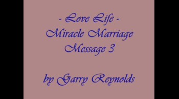 Miracle Marriage Message - 3 of 4