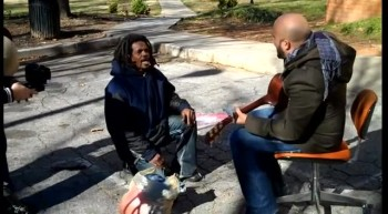 Amazing! Homeless Man Breaks Out in Gospel with God Of Second Chances