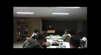 Joseph Hamblen's first teaching @ Loving Hands Ministries 05.14.12