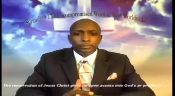 The Resurrection of Jesus Christ-gives opon door access into God's Presence