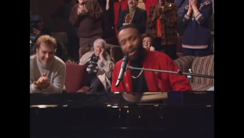 Andre Crouch and CeCe Winans Perform a Medley of: Through it All, Can't Nobody Do Me Like Jesus, and Soon and Very Soon