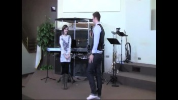 Beautiful Christian Proposal in Church