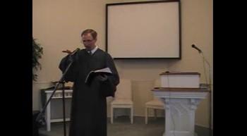 First Presbyterian Church Service, 5/27/2012. R. Scott MacLaren, Pastor