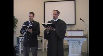 """Hymn: """"I Sought the Lord,"""" Waggoner & MacLaren, First OPC Perkasie, PA 5/27/2012"""
