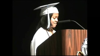 Graduation Speech: Everything I Accomplished it Because of Jesus