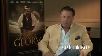 FOR GREATER GLORY - Andy Garcia interview