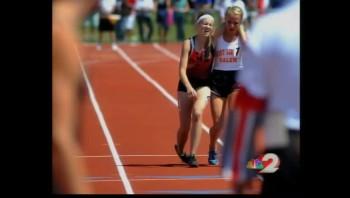 Runner Carries Injured Rival Across The Finish Line - Unbelievable Sportsmanship!