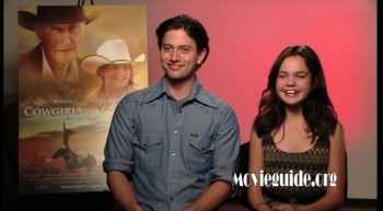 COWGIRLS N' ANGELS - Jackson Rathbone & Bailee Madison interview
