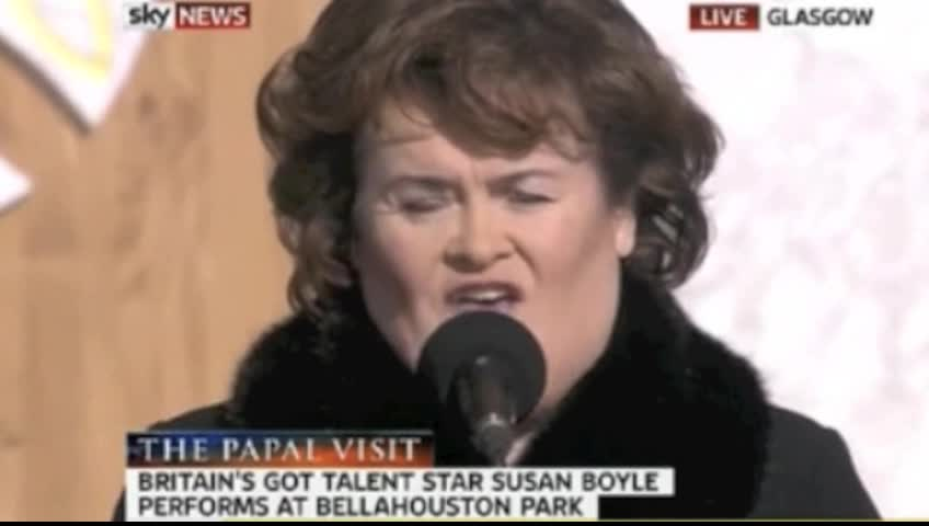 Susan Boyle's Performance of How Great Thou Art Will Take Your Breath Away!