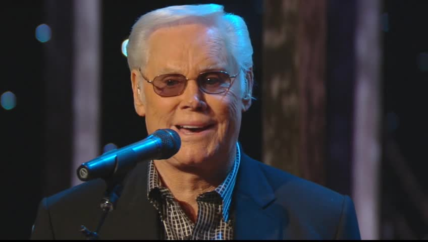 George Jones - Just a Little Talk With Jesus (Live)