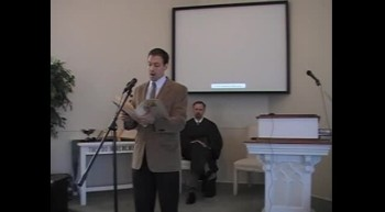 """Special Music: """"The Lord's Prayer,"""" Mr. Joseph Waggoner, First OPC Perkasie, PA 6/24/12"""