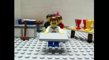 Lego School lunch