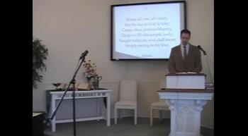 """Congregational Hymn: """"Light of Light,"""" First Presbyterian Church OPC, Perkasie, PA 6/24/12"""