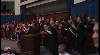 Awesome Gospel Flash Mob at Graduation