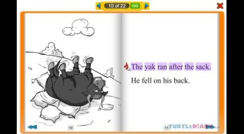 Sack on The Yak - Learn to Read at www.turtlediary.com