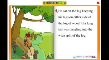 The Curious Monkey - Interactive Reading Book for Kids at www.turtlediary.com