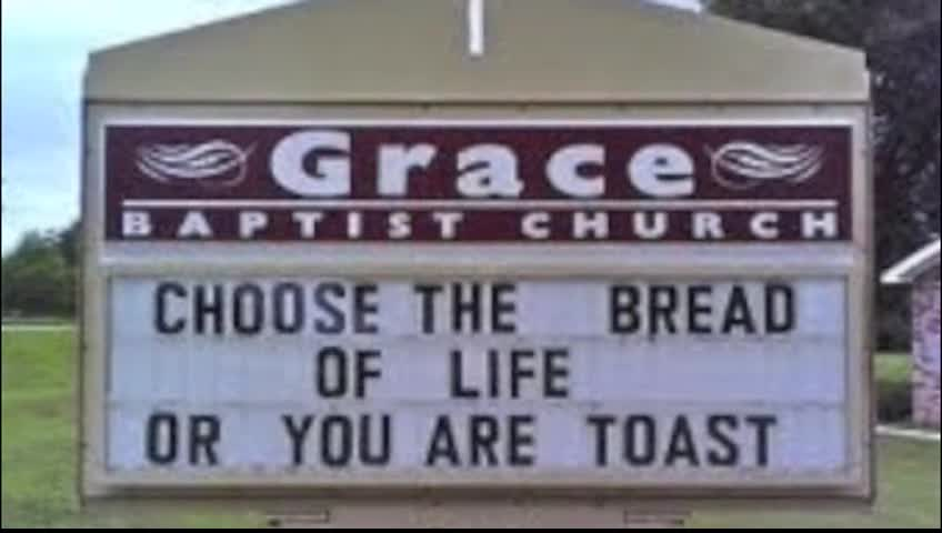 New Funny Church Signs Inspirational Videos