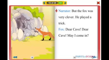 The Talking Cave - Early Reading Stories for Kids at www.turtlediary.com