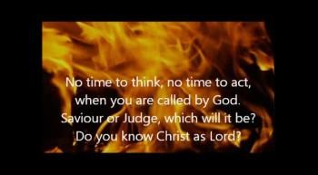 Saviour Or Judge