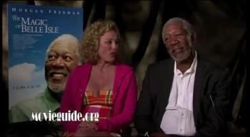 THE MAGIC OF BELLE ISLE - Morgan Freeman  Virginia Madsen interview