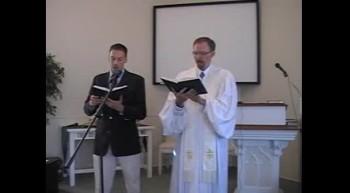 """Hymn: """"Twas On That Night,"""" Waggoner & MacLaren, First OPC Perkasie, PA"""