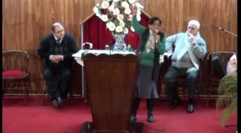 Aumentaras las fuerzas como las del Búfalo. Pastora Adelita Britos. 17-06-2012