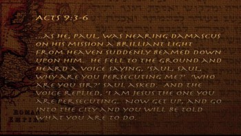 Old Testament: Saul of Tarsus